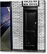 Box Office Of Games Gone By Canvas Print