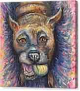 Boxer Buddy Canvas Print