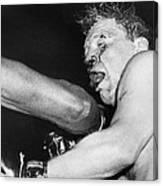 Boxer Near His Limit Canvas Print