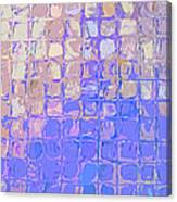 Boxes In Purple And Pink Canvas Print