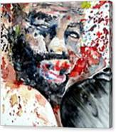 Boxing II Canvas Print