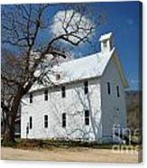 Boxley Schoolhouse Canvas Print