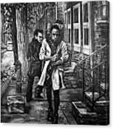 Boy In Heels Canvas Print