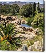 Boyce Thompson Desert Vista Canvas Print