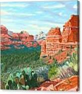 Boynton Canyon Canvas Print