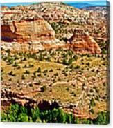 Boynton Overlook On Highway 12 In Grand Staircase-escalante National Monument-utah Canvas Print