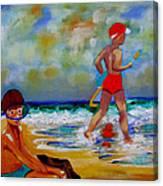 Boys Own Canvas Print