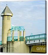 Boyton Beach Bridge Canvas Print