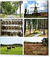 Brabant Collage Canvas Print