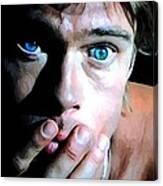 Brad Pitt In The Film The Mexican - Gore Verbinski 2001 Canvas Print