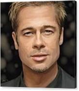 Brad Pitt Canvas Print