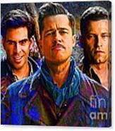 Brad Pitt Original Canvas Print