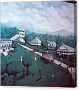 Braddock Heights Mural Canvas Print