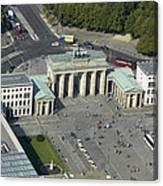Bradenburg Gate, Berlin Canvas Print