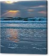 Bradenton Beach Sunset Canvas Print