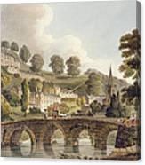 Bradford, From Bath Illustrated Canvas Print