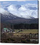 Braeriach From Whitewell Canvas Print