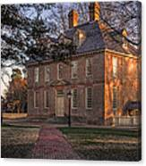 Brafferton At William And Mary College Canvas Print
