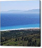 Bragini Beach One Canvas Print