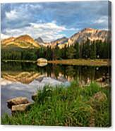 Brainard Lake Reflections Canvas Print