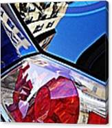 Brake Light 50 Canvas Print