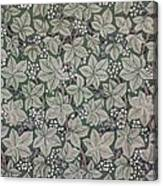 Bramble Wallpaper Design Canvas Print
