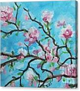 Branches In Bloom Canvas Print