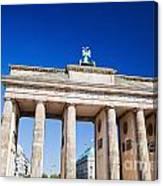 Brandenburg Gate Canvas Print