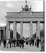 Brandenburger Tor - Berlin Canvas Print