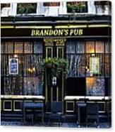 Brandon's Pub Canvas Print