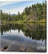 Brandywine Swim Lake Canvas Print
