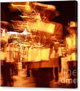 Brass Band At Night Canvas Print