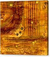 Brass Tokens Canvas Print