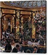 Brasserie Bofinger In The Rue De La Bastille, Paris, 1999 Oil On Canvas Canvas Print