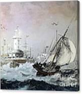 Braving The Storm Canvas Print