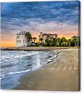 Breach Inlet Sunset Canvas Print