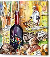 Bread From Bergamo Canvas Print