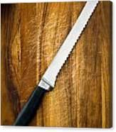 Bread Knife Canvas Print