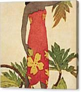 Breadfruit Girl Canvas Print