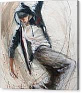 Break Dancer1 Canvas Print