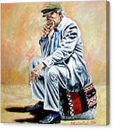 Break For Smoking - Apeadero Para Fumar Canvas Print
