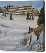 Breakfast Hunt Canvas Print
