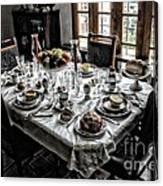 Downton Abbey Breakfast Canvas Print