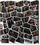 Breaking Dawn Part 2 Pile Of Pics Canvas Print