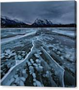 Breaking Ices Canvas Print