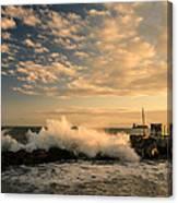 Breaking Waves Iv Canvas Print