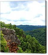 Breaks Interstate Park Virginia Kentucky Rock Valley View Overlook Canvas Print