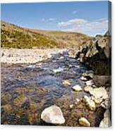 Breamish River Canvas Print