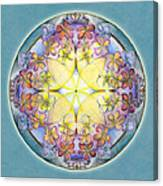 Breath Of Life Mandala Canvas Print