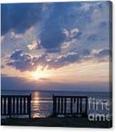 Breathtaking Sunset Canvas Print
